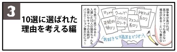 【3】10選に選ばれた理由を考える編
